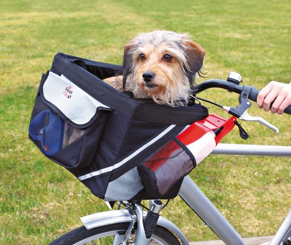 Cykelkorg Front-Box för Svart/Grå 38x25x25 cm