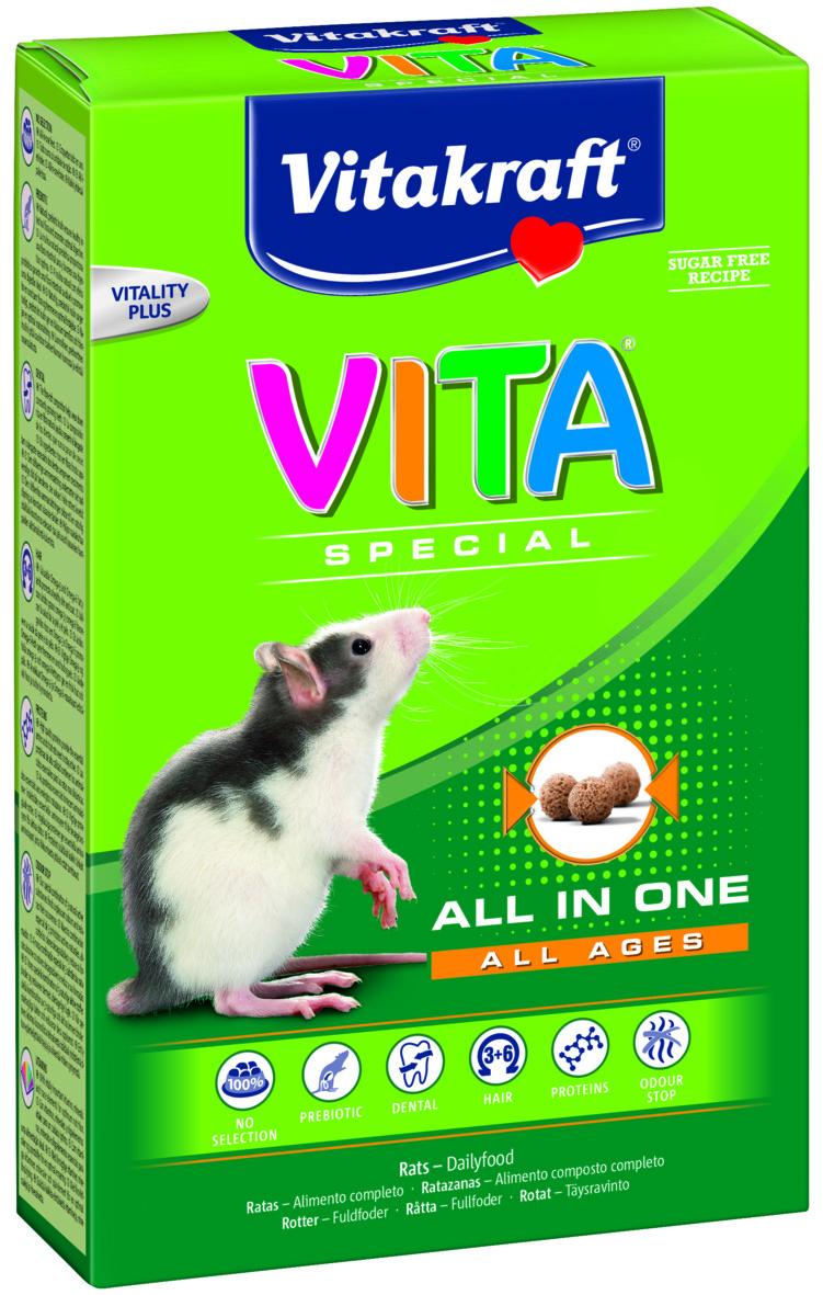 Vita Special råtta 600gr