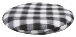 Värmedyna för microvågsugn,ø 21 cm, svart/vit