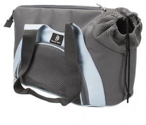 Scarlett transportväska,21 × 30 × 50 cm, grå/blå
