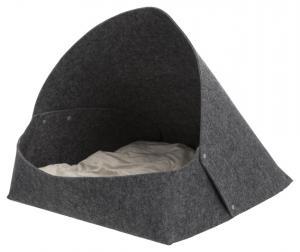 Arta igloo, filt,55 × 50 × 77 cm, antracit