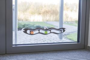 Kattleksak Fix & Catch, för fönstermontage,45 cm