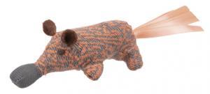 Näbbdjur, polyester,8 cm mix färg
