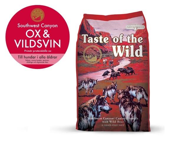 Taste of the Wild Southwest Canyon, Ox Vildsvin 13 kg