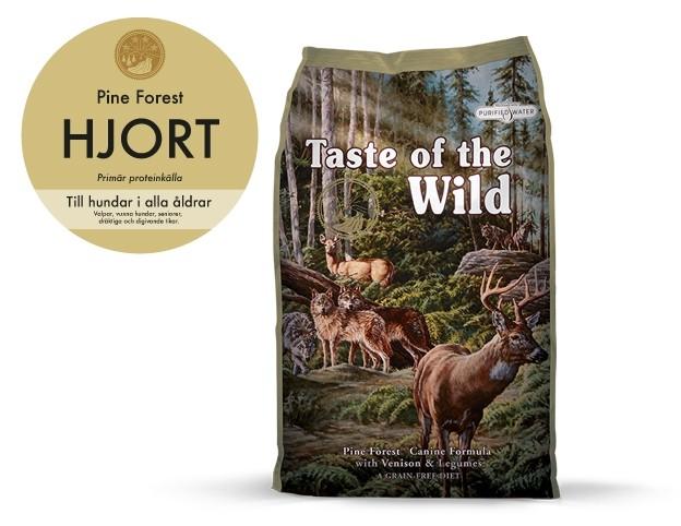 Taste of the Wild Pine Forest, Hjort 13 kg