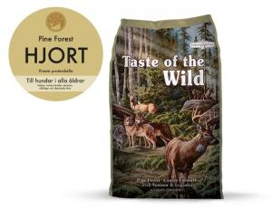 Taste of the Wild Pine Forest, Hjort 13 kg