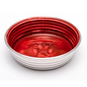 Matskål Le Bol- Vinröd/silver S, 450ml