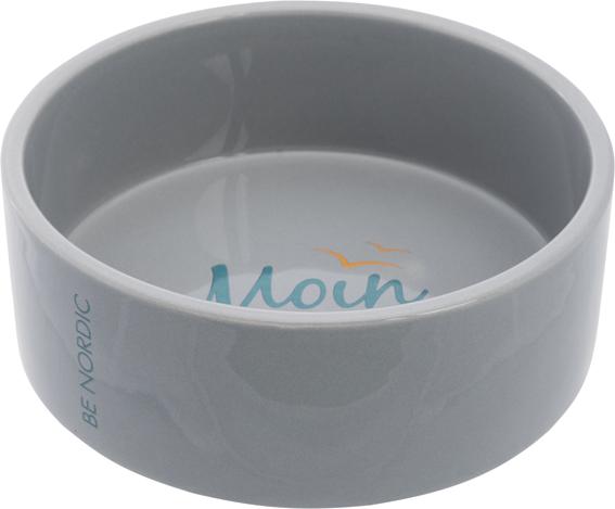 BE NORDIC keramikskål,0.8 l/ø 16 cm, grå