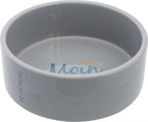 BE NORDIC keramikskål,1.4 l/ø 20 cm, grå