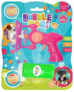 BUBBLE DOG BIG BUBBLES ELECTRIC GUN PEANUT BUTTER