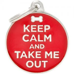charms, keep calm/out