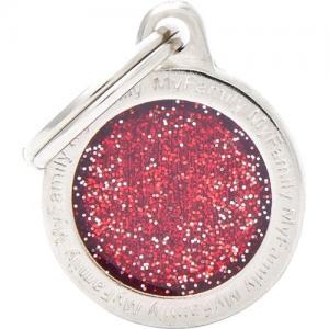 shine, cirkel litet, röd
