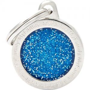 shine, cirkel litet, blå
