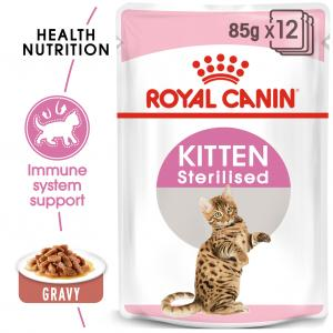 FHN Kitten Sterilised Gravy 85 g