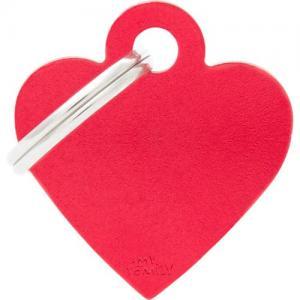 basic, hjärta litet, röd