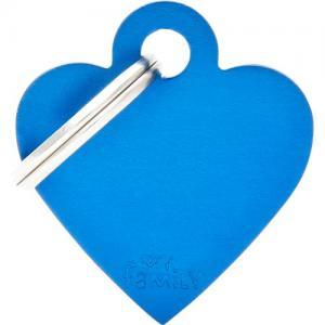 basic, hjärta litet, blå