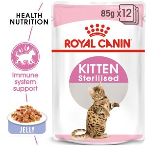 FHN Kitten Sterilised Jelly 85 g