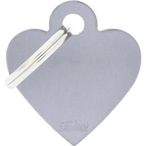 basic, hjärta litet, grå