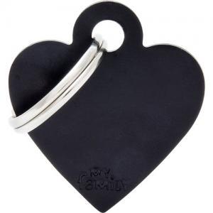 basic, hjärta litet, svart
