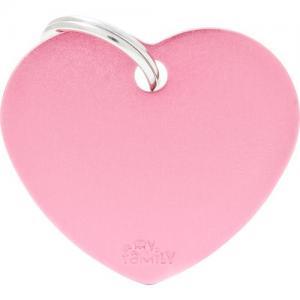basic, hjärta stor, pink