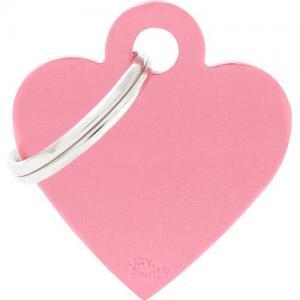 basic, hjärta litet, pink