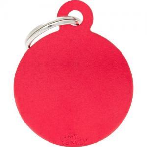 basic, cirkel stor, röd