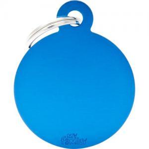 basic, cirkel stor, blå