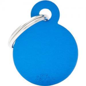 basic, cirkel liten, blå