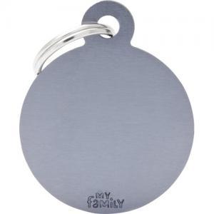 basic, cirkel stor, grå