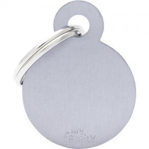 basic, cirkel liten, grå