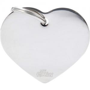 basic, hjärta stor, stål