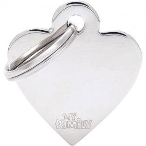 basic, hjärta liten, stål