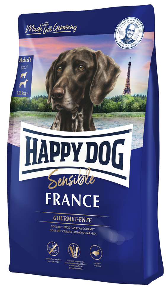 HappyDog Sens. France GrainFree 4 kg