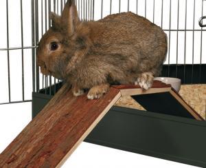 """""""NL"""" Bro för kanin & marsvin 63x15x18 cm"""
