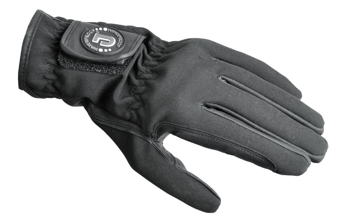 Softshell handske svart L