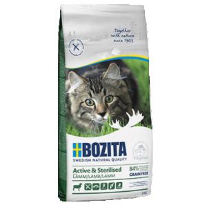 Bozita Active & Sterilized Grain Free Lamb 2kg