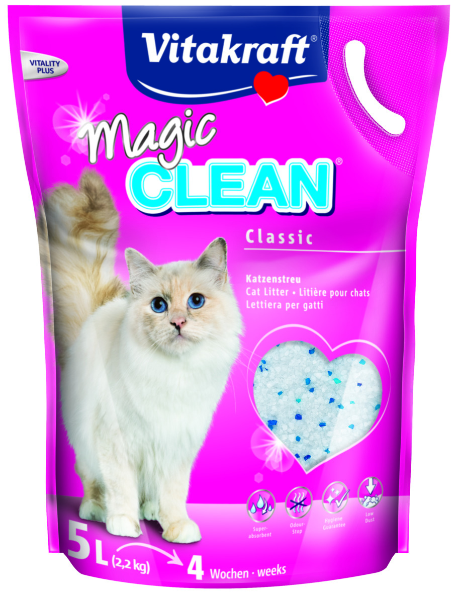 Magic Clean 5liter, Katt