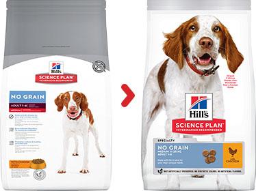SP Canine Adult NoGrain Medium Chicken 2.5kg