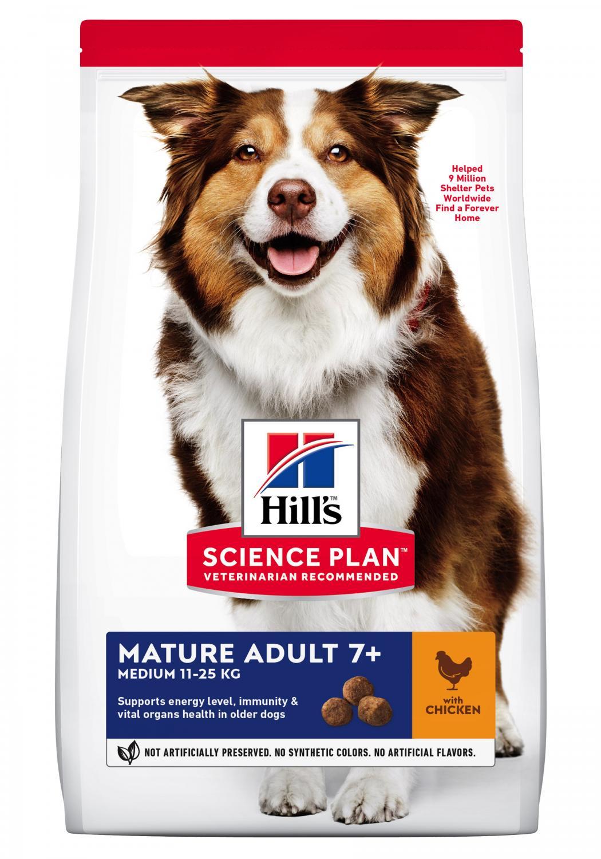 SP Canine Mature Medium Chicken 2.5kg