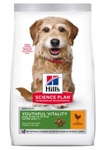 SP Canine Adult7+ Youthful Vitality Small&Mini Chicken 1.5kg