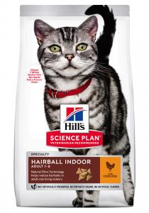 SP Feline Adult Hairball Indoor Chicken 3kg