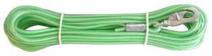 Spårlina gjuten 6mm Neongrön