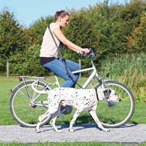 Cykel- & Jogginglina m expander 25 mm /1-2 m