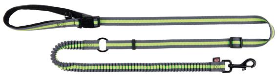 Joggingkoppel, 133-180 cm/20 mm, grå/lime