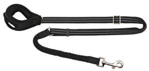 Joggingkoppel, 90-130 cm/20 mm, svart