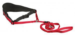 HandsFreebälte m expander 70-120/12 cm Röd