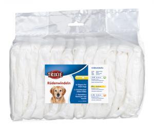 Blöjor för hanhund, M-L: 46-60 cm, 12-pack
