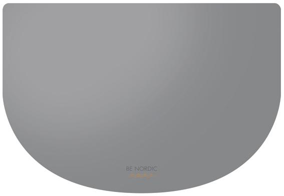 BENORDIC matskålsunderlägg,40 × 30 cm, grå