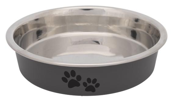Matskål för kortnosiga katter, rostfri,0.25 l/ø 13 cm