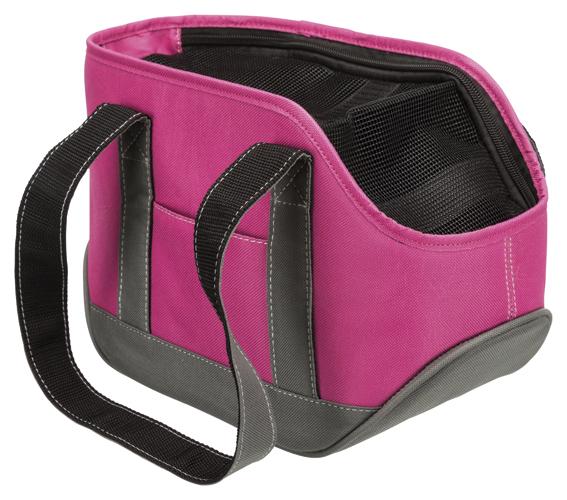 Alea transportväska,S: 16 × 20 × 30 cm, rosa/grå